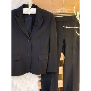 Women's Black Suit Set